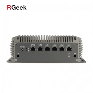 6 LAN ports, DC 12V