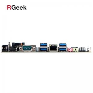 1* HDMI 1* COM, 1* LAN RJ45, 4* USB3.0, 1* Line out, 1* Mic, 1* DC5525