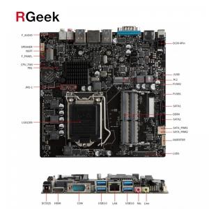 LGA1200, 2*DDR4 2400/2666 MHz